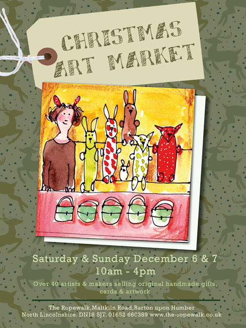 Ropewalk Christmas Art Market 2014